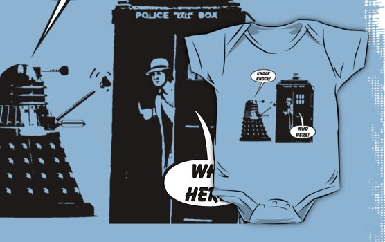Doctor Who exterminates another Knock Knock joke! by Brother Adam