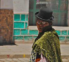 Bolivian Woman by sideways
