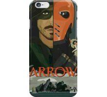 Arrow Arrow Vs. Deathstroke iPhone Case/Skin