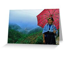 Guide to Sapa Greeting Card