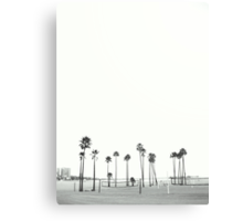 Bleached Beach Canvas Print