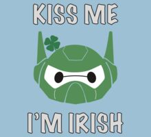 Baymax Head with St. Patrick's Day Helmet (Kiss Me 1) Kids Clothes