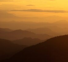 Sepia Dawn - Sarangkot, Nepal. by AlliD