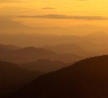 Sepia Dawn - Sarangkot, Nepal. by AlliD