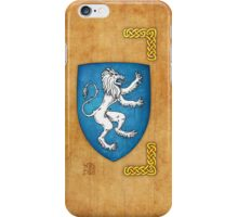Lion Rampant To Sinister iPhone Case/Skin