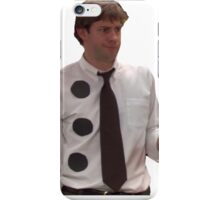 Three Hole Punch Jim  iPhone Case/Skin