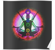 Meditation & the Chakras II Poster
