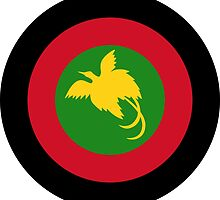 Roundel of Papua New Guinea Air Operations Element  by abbeyz71