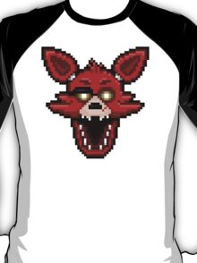 Five Nights at Freddy's 1 - Pixel art - Foxy T-Shirt