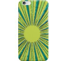 Green Circles iPhone Case/Skin