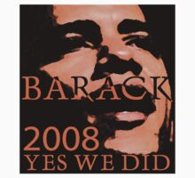 Barack Yes We Did! by Zehda