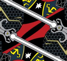 Ganondorf Card - Hylian Court Legend of Zelda Sticker