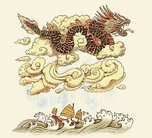 Prevailing Dragon Winds by Terry  Fan