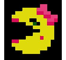Ms Pacman couple Photographic Print