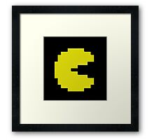 Mr Pacman and Ms Pacman couple Framed Print