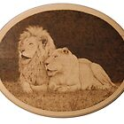 White Lions by Heather Ward