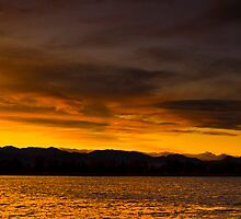 Sunset Pano by Jay Ryser