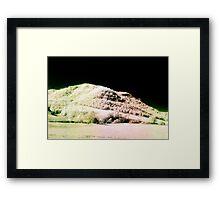 Landscape for Piet Mondrian # 2 Framed Print