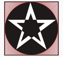 Revolutionary Pentacle Series: Black Star by Zehda