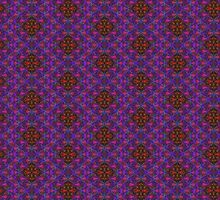 Eye-Catching Purple Blue and Pink Optical Illusion Leggings Moving Psychedelic Design 0219152 by CAP by capartwork