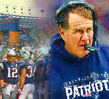 Legend Bill Belichick New England Patriots by John Farr
