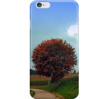 Blushing tree in shame | landscape photography iPhone Case/Skin