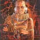 'Turkana Tribal Woman' by Pauline Adair