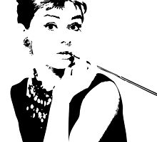 Audrey Hepburn by Lauren Eldridge-Murray