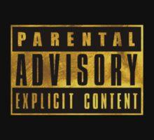 WARNING - GOLD VERSION Kids Clothes