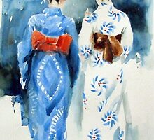 'Geishas' by Pauline Adair