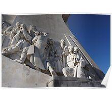 Monument to the Discoveries   Padrão dos Descobrimentos Nr. 3 Poster