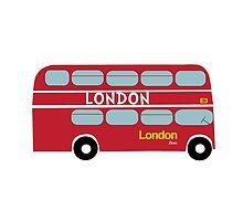 London Bus  by dickensink