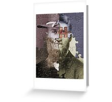 Putting the pieces together Greeting Card