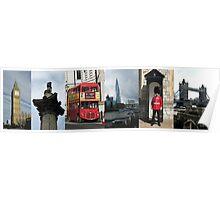 London Sights Poster