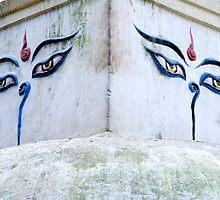 Buddha's Eyes by Walter Quirtmair