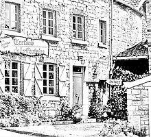 Deigné - Tarterie - sketch by Gilberte