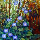 Ipomoea &quot;caerulea blue&quot; by elisabetta trevisan