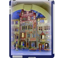 Pretty Swiss Village iPad Case/Skin