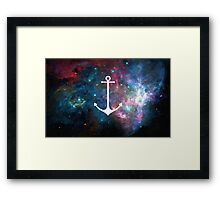 Space Weight Framed Print