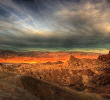 Sunrise at Zabrinski Point by socalgirl