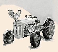 Tractor song by Christi Werner