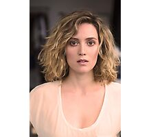 The Beautiful Evelyne Brochu Photographic Print