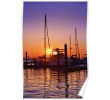 Louisiana Sunset Poster