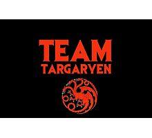Game of Thrones - Team Targaryen Photographic Print