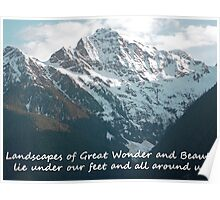 Landscapes of Great Wonder  Poster