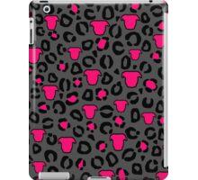 Leopard Pit Bull Print Charcoal iPad Case/Skin