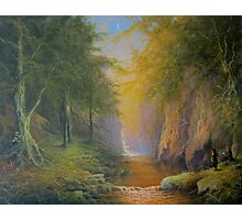 Tree beard Merry and Pippin  In Fangorn Photographic Print
