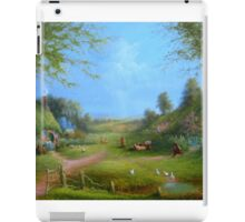 A Hobbits Adventure (late for an appointment) iPad Case/Skin