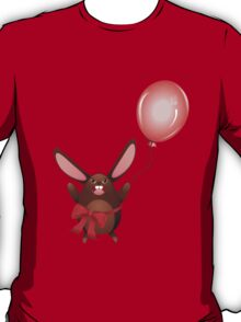 Chocolate Bunny with Balloon 2 T-Shirt