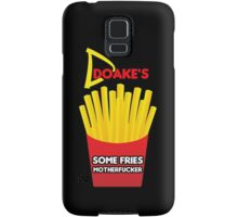 Some Fries Motherfucker - Doakes/Dexter Samsung Galaxy Case/Skin